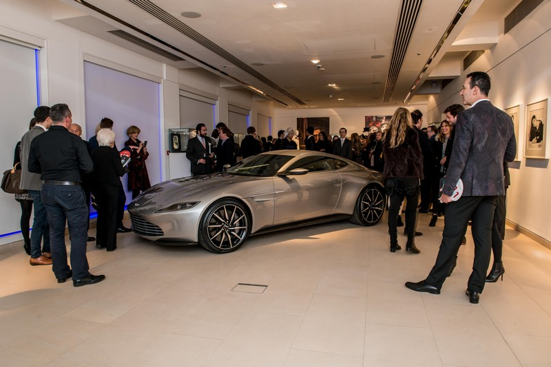 007 Aston Martin DB10 sold for 2.4 million benefiting MSF-2016 Chrisites auction-