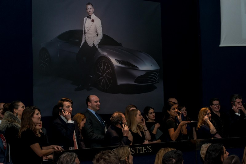 007 Aston Martin DB10 sold for 2.4 million benefiting MSF-2016 Chrisites auction