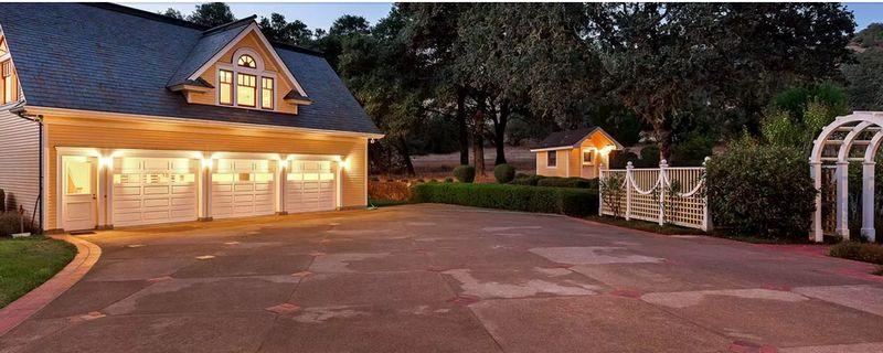 1,750-Acre Ranch in California's Mendocino County - East Ranch-garage
