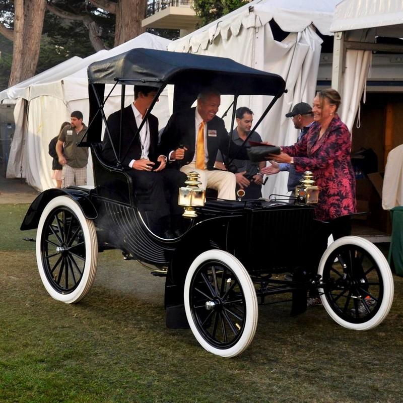 1904 Duryea Four-Wheel Phaeton from Barry & Karen Meguiar