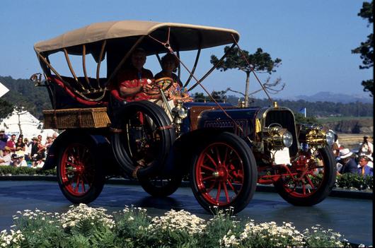 1904 Pope Toledo Type VI Rear Entrance Tonneau