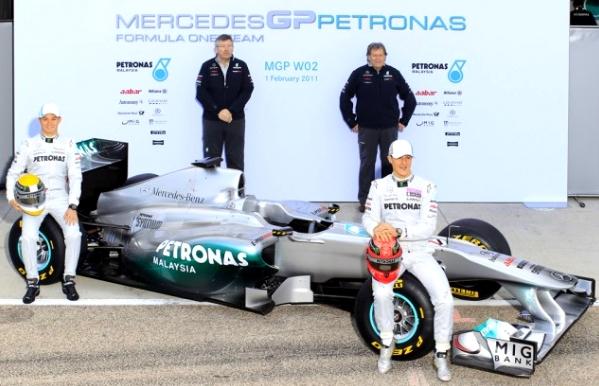 Mercedes GP 2011 Formula 1 Race Car