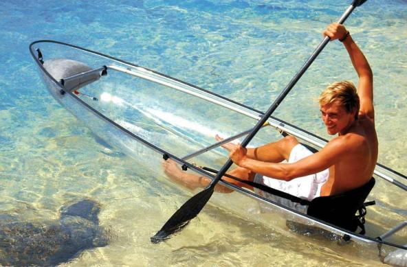 transparent kayaks endorphines guaranteedluxury news