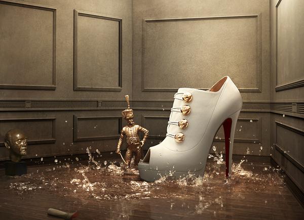 consumers buy luxury footwear, they