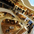 Louis Vuitton shop on its opening day in Rome