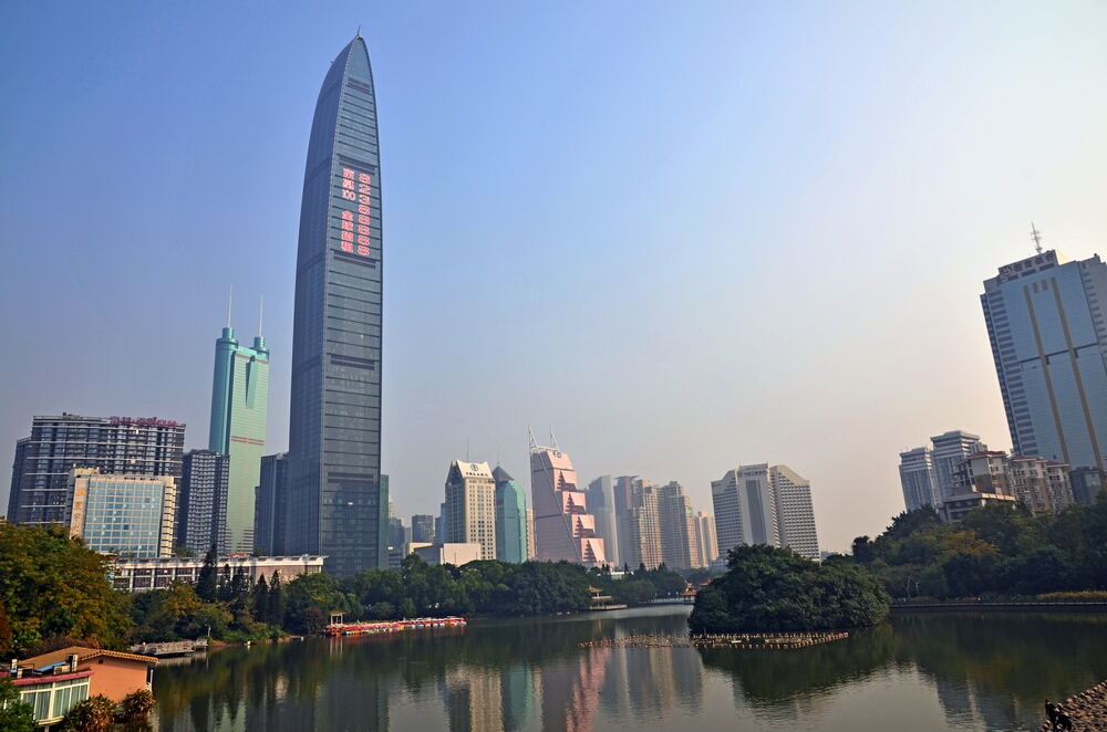 Situated in the heart of the caiwuwei financial district the st