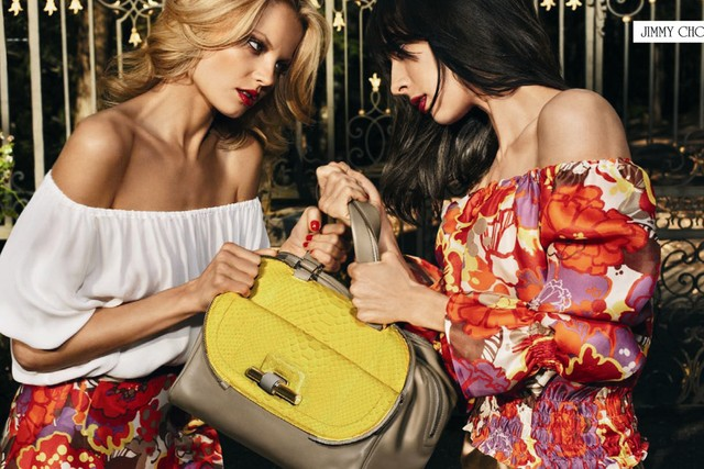 The Jimmy Choo campaign