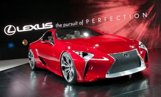 The Lexus LF-LC Concept at NAIAS