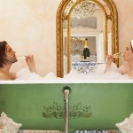 Champagne-Bath Champagne and Romance
