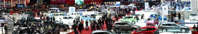 Geneva Motor Show Halls