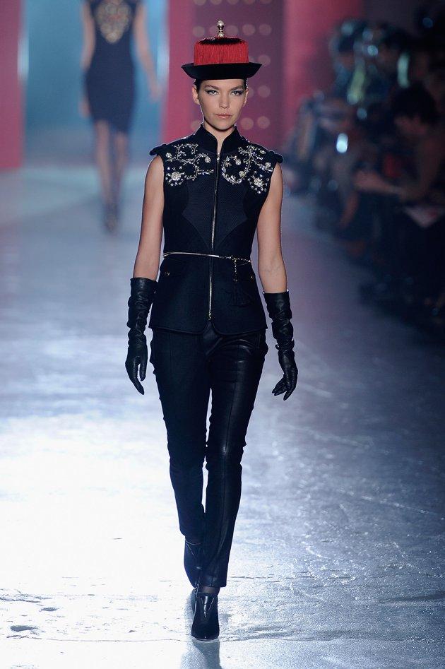 Jason Wu Fall 2012 fashion show during Mercedes-Benz Fashion W