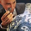 Sotheby's checks Ming Dynasty vase in Hong Kong