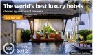 best luxury hotels travelers choice 2012