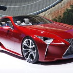 Lexus LF-Lc concept for a high-performance hybrid