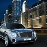 The Bentley EXP 9 F
