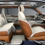 The Bentley EXP 9 F interior