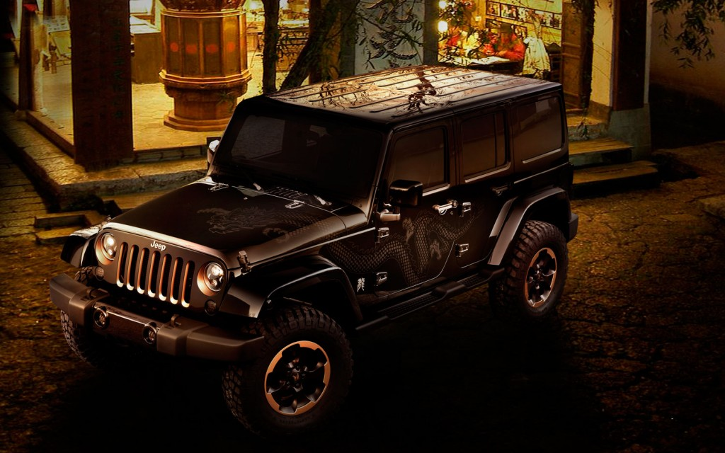 Jeep Dragon Concept, обои из категор…