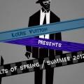 Louis Vuitton a notch on LV belts 2012