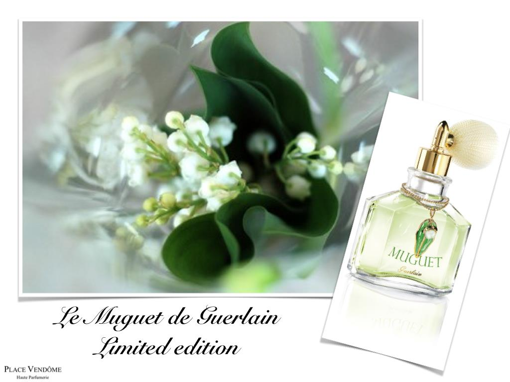 guerlain muguet 2012 the perfume released in sale for only 1 day in a yearluxury news best of. Black Bedroom Furniture Sets. Home Design Ideas