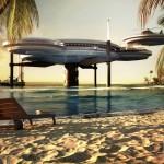 dubai underwater hotels project 2012 - 2