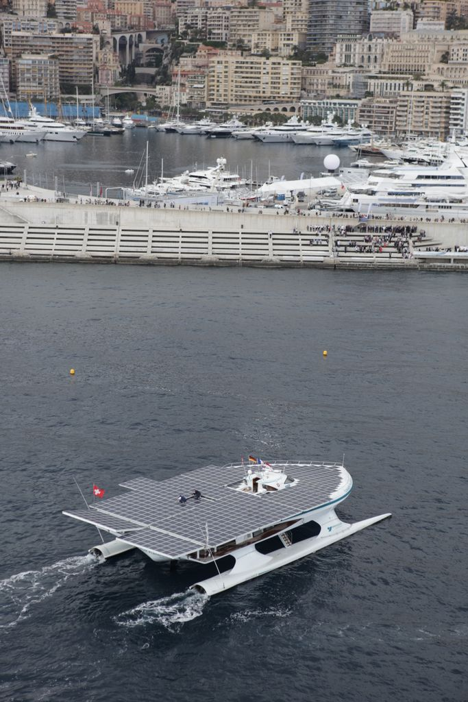 Solar run ship in the world completed its record breaking world tour