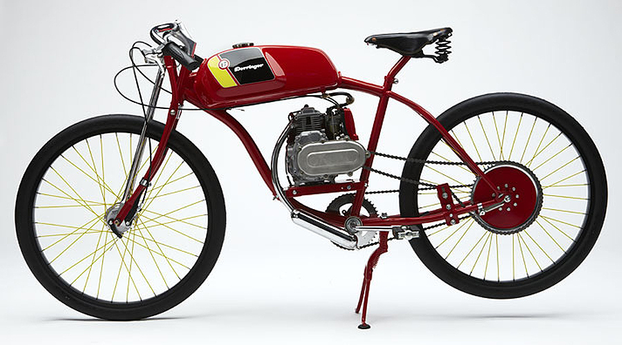 Derringer Cycles Board Track Style Motorcycles