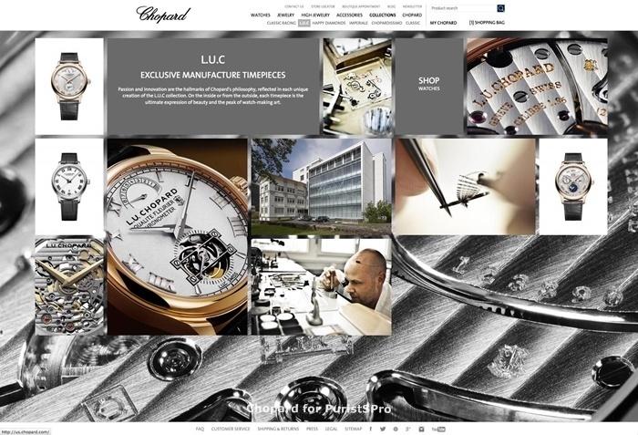 Chopard Launches Luxury E-Commerce