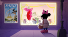 Skinny Minnie's Parisian fashion adventure: Disney's Electric Holiday animated film