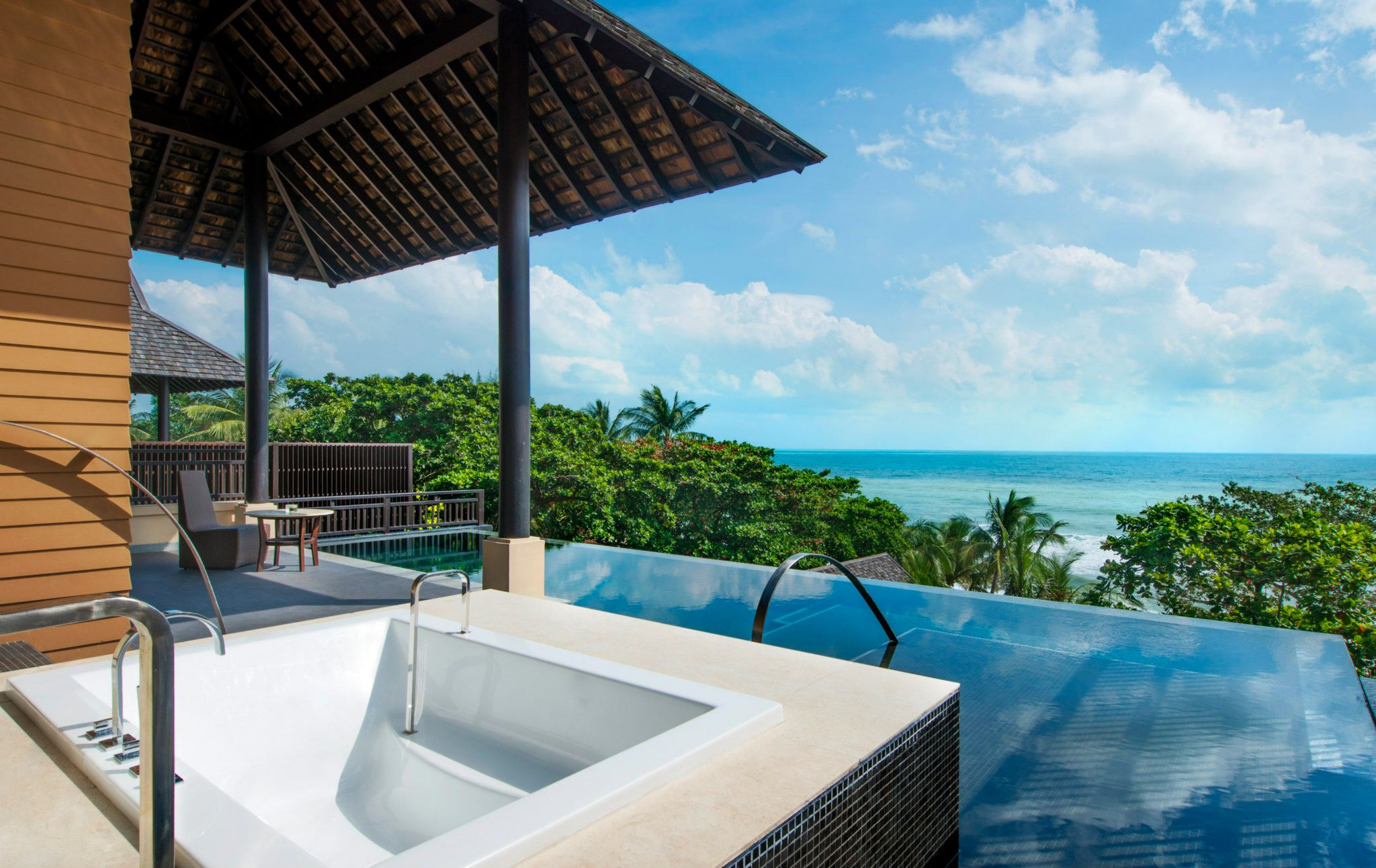The luxury collection vana belle in koh samui ocean view for Luxury collection hotels
