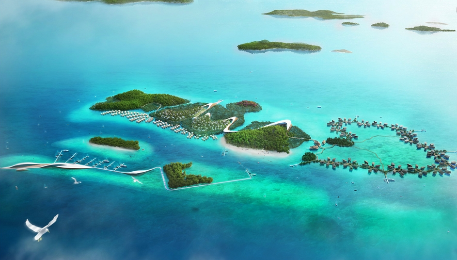 The Largest Eco Theme Park To Be Build In Riau Islands