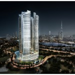 DAMAC_Towers_by_Paramount_-_Night_View