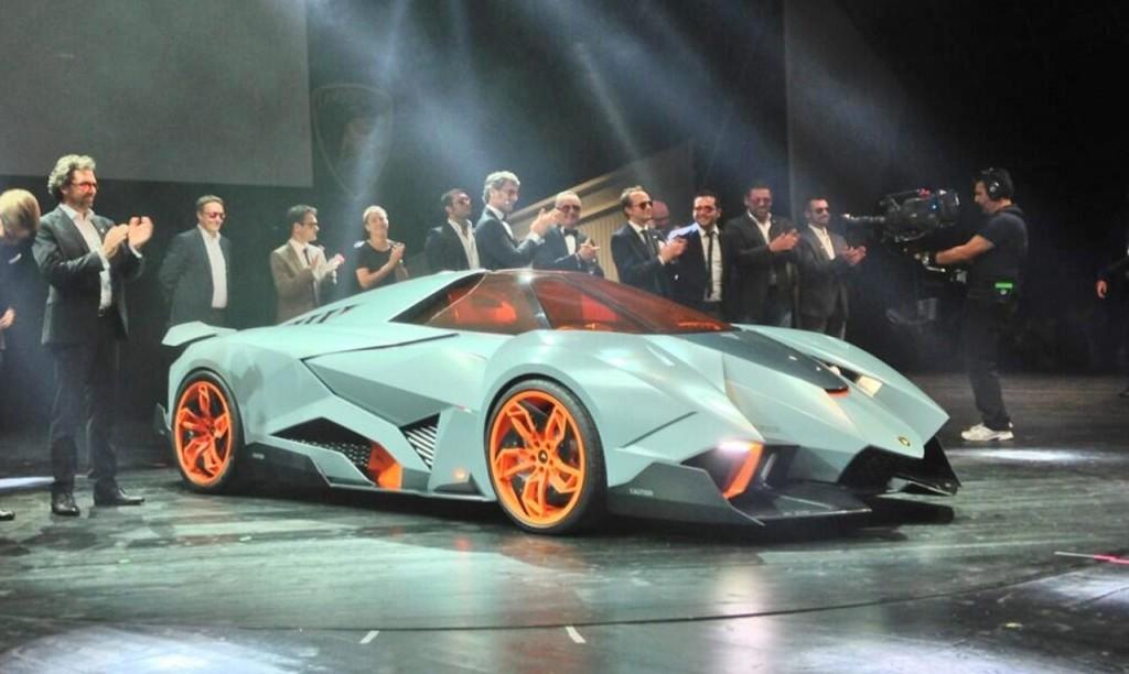 Lamborghini Concept 2013 Egoista The selfish wild one-s...