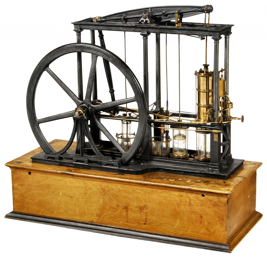 the first inventors of steam engines in the industrial revolution