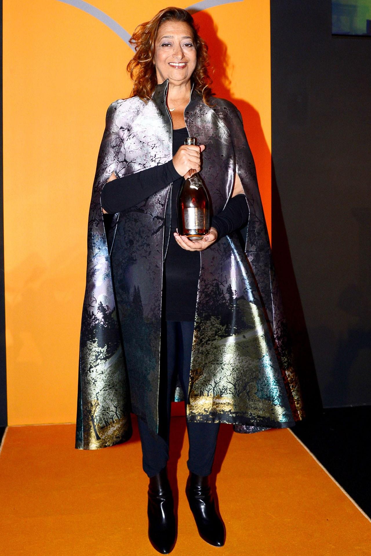 Zaha Hadid The Winner Of The 2013 Veuve Clicquot