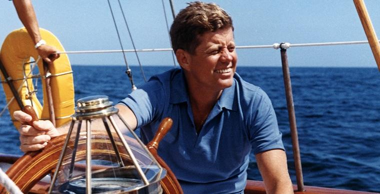 John F Kennedy yacht
