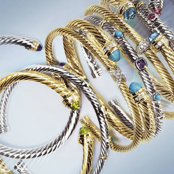 Relaxed american luxury of david yurman in beauty in for David yurman inspired bracelet cable