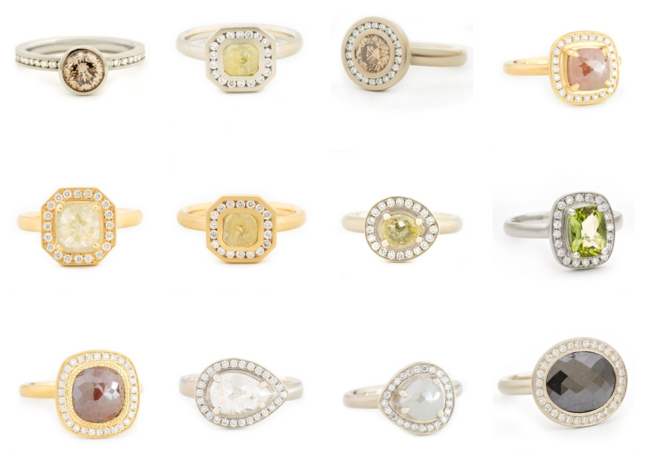 trend colored engagement rings2luxury2