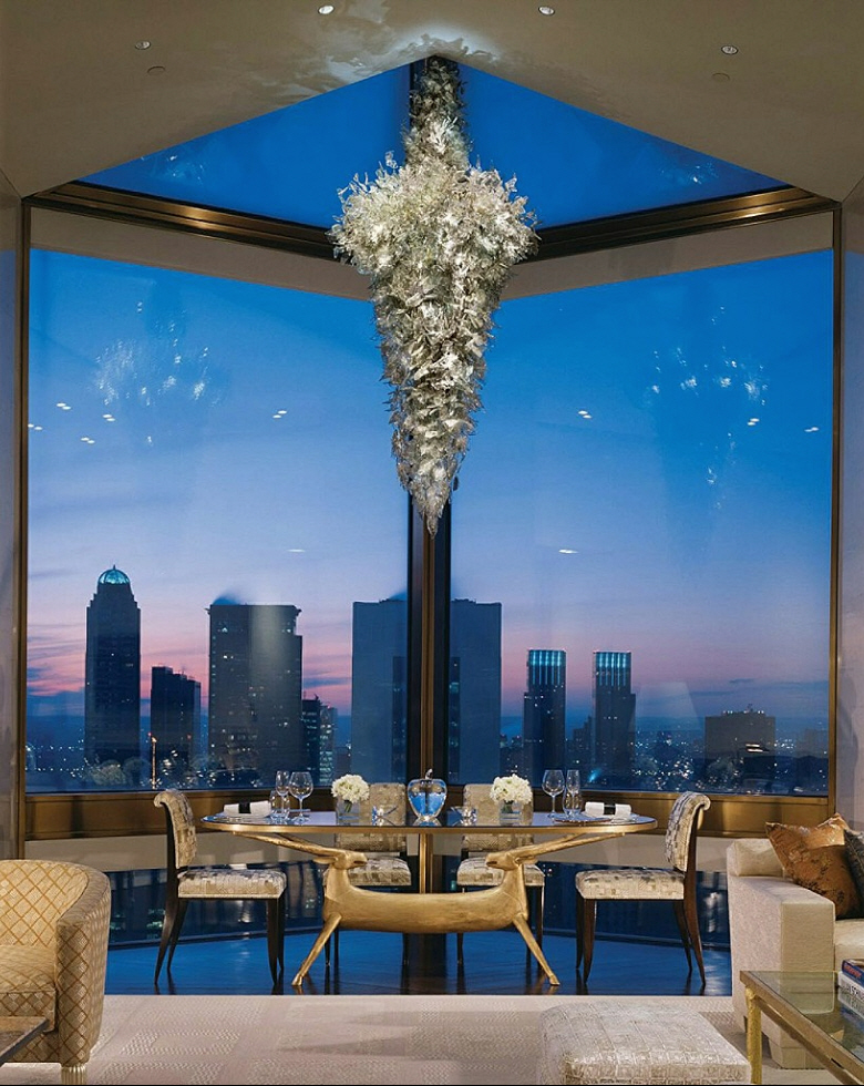 most expensive hotel suite in new york costs 45 000 a night