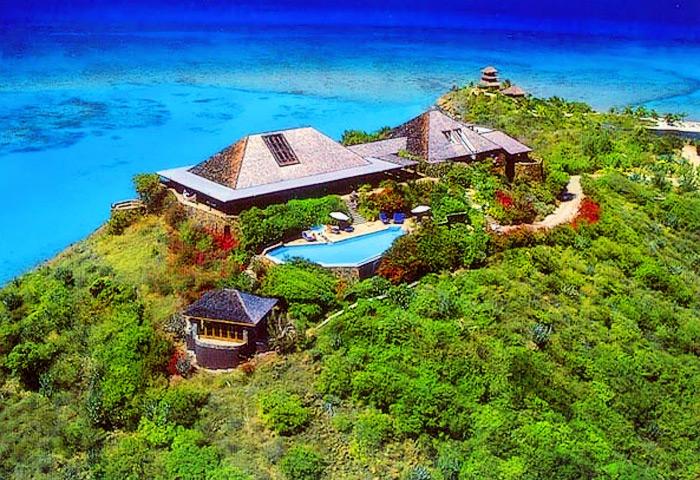Richard Branson S Luxury Caribbean Necker Island