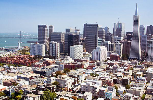downtown San Francisco