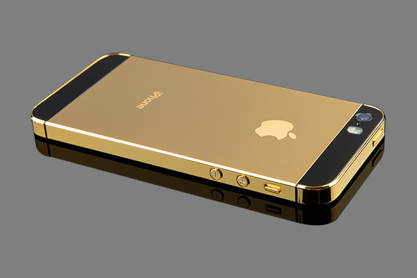 World's First IPhone 5S In Massive Gold Made With 3D