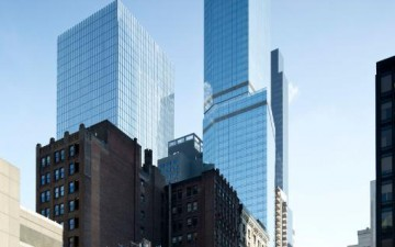 North America's tallest hotel opened in New York City