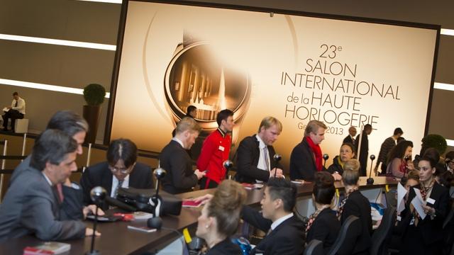 Foremost events in the horological calendar the salon for Salon de la haute horlogerie