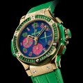 HUBLOT Big Bang Pop Art watch at Baselworld 2014