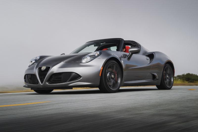FCA US LLC 2015 Alfa Romeo 4C Spider