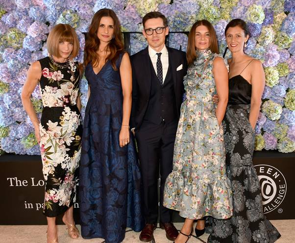 2015 London Green Carpet Collection by ERDEM