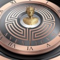 2015 Luxury Timepieces - The Christophe Claret Aventicum with gold micro-sculpture-Baselword 2015-dial