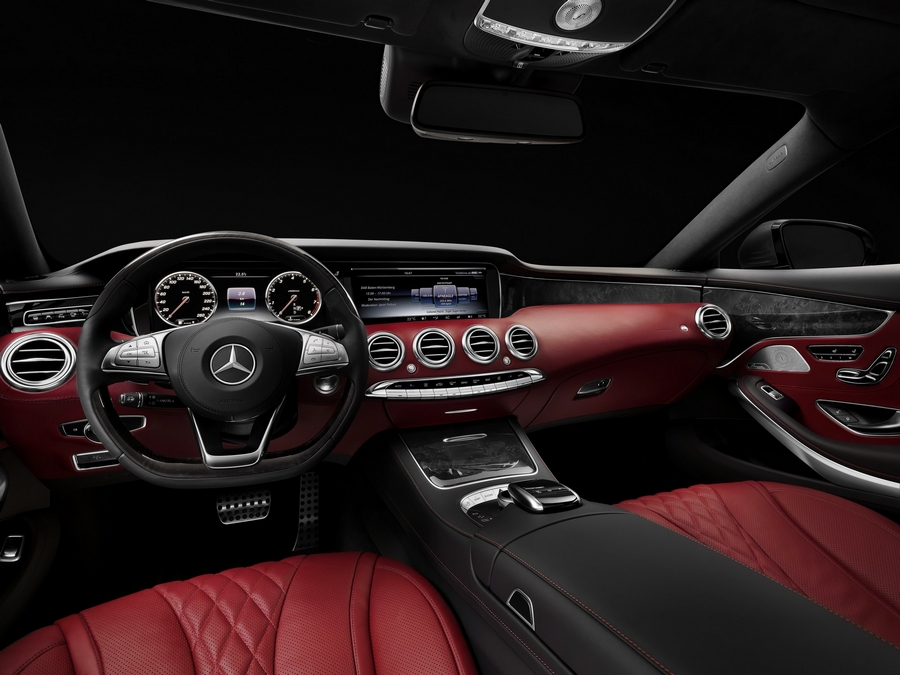 2015 World Luxury Car Mercedes-Bezn S Coupe
