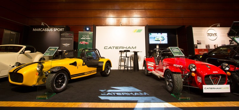 Caterham at salon de l homme paris 2015 catered for all for A touch of class pet salon