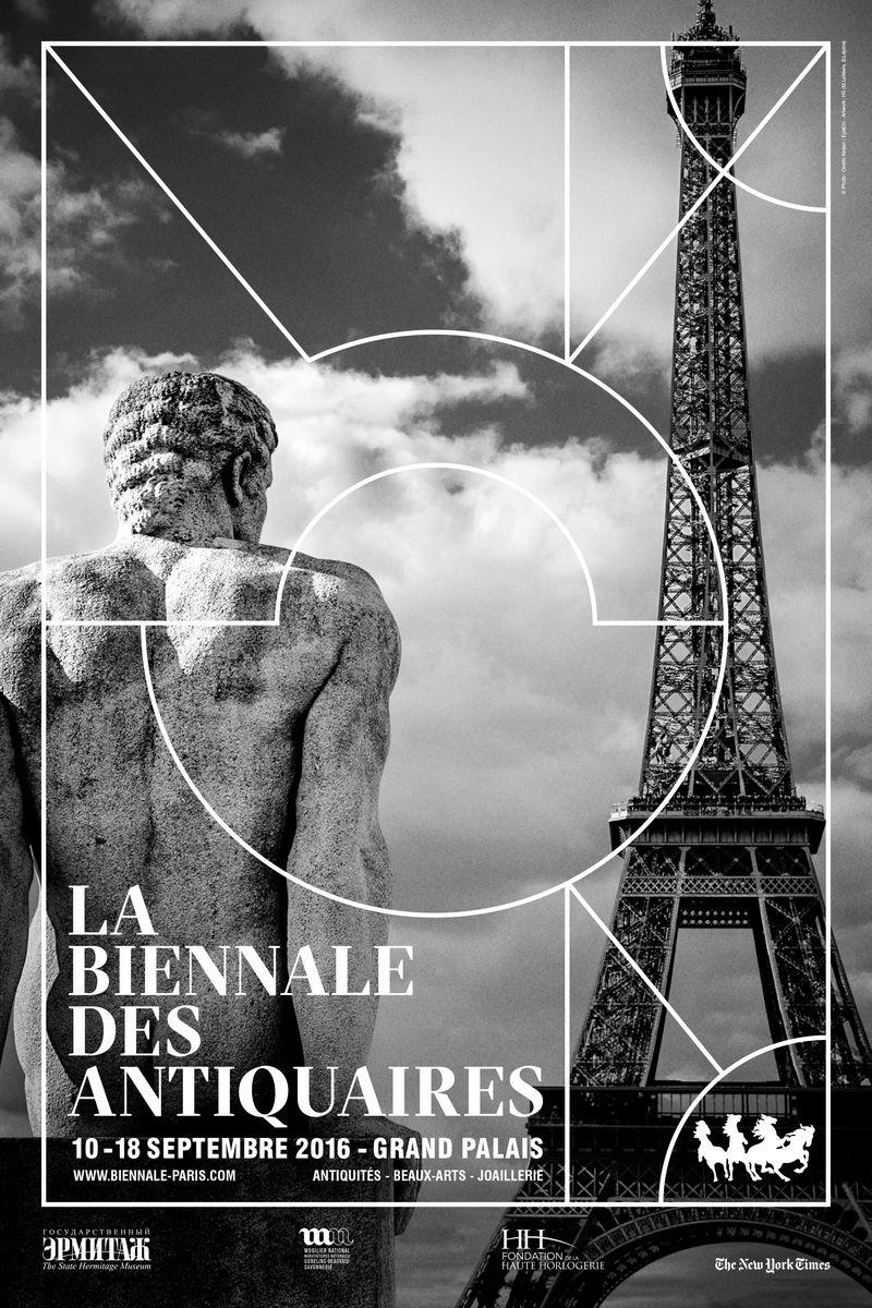 2016 Biennale des Antiquaires- poster 2016